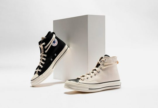 街头品牌Fear of God ESSENTIALS x Converse Chuck 70 联名鞋款缩略图