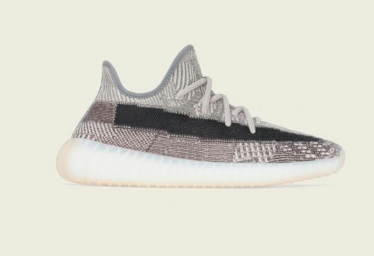 adidas Originals YEEZY BOOST 350 V2 最新 ZYON 灰白配色设计缩略图