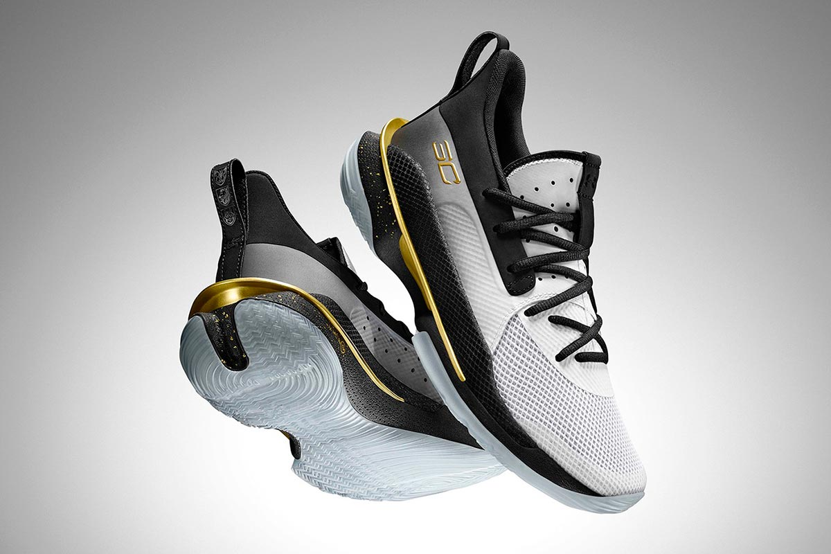 Under Armour Curry 7 全新 FOR THE GAME 配色鞋款618天猫旗舰店首发插图2