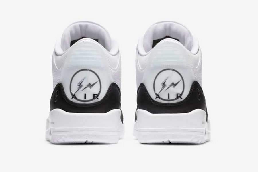 Air Jordan 3 Retro SP x Fragment Design 联名 wihte 配色鞋款插图4