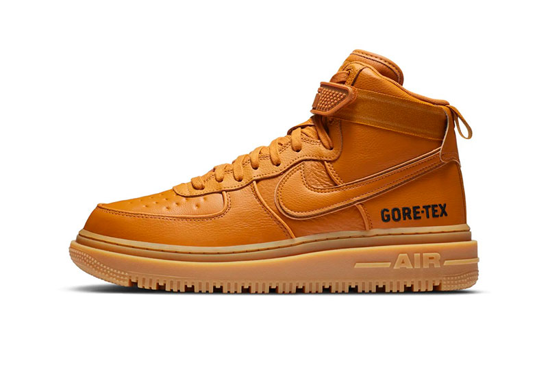 Nike Air Force 1 Boot GORE-TEX 全新两款「Wheat」和「Olive」配色插图