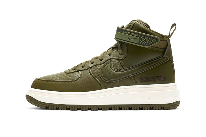 Nike Air Force 1 Boot GORE-TEX 全新两款「Wheat」和「Olive」配色插图4
