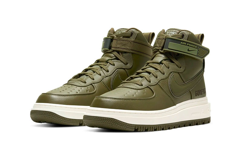 Nike Air Force 1 Boot GORE-TEX 全新两款「Wheat」和「Olive」配色插图5