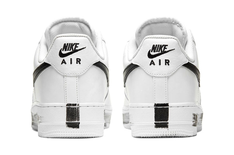 权志龙G-Drago PEACEMINUSONE x Nike Air Force 1 联名鞋款插图3