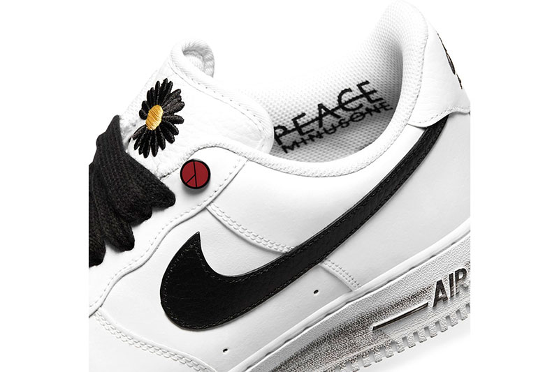权志龙G-Drago PEACEMINUSONE x Nike Air Force 1 联名鞋款插图5