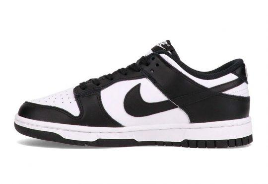 Nike Dunk Low 「White/Black」黑白配色AMBUSH简化版缩略图