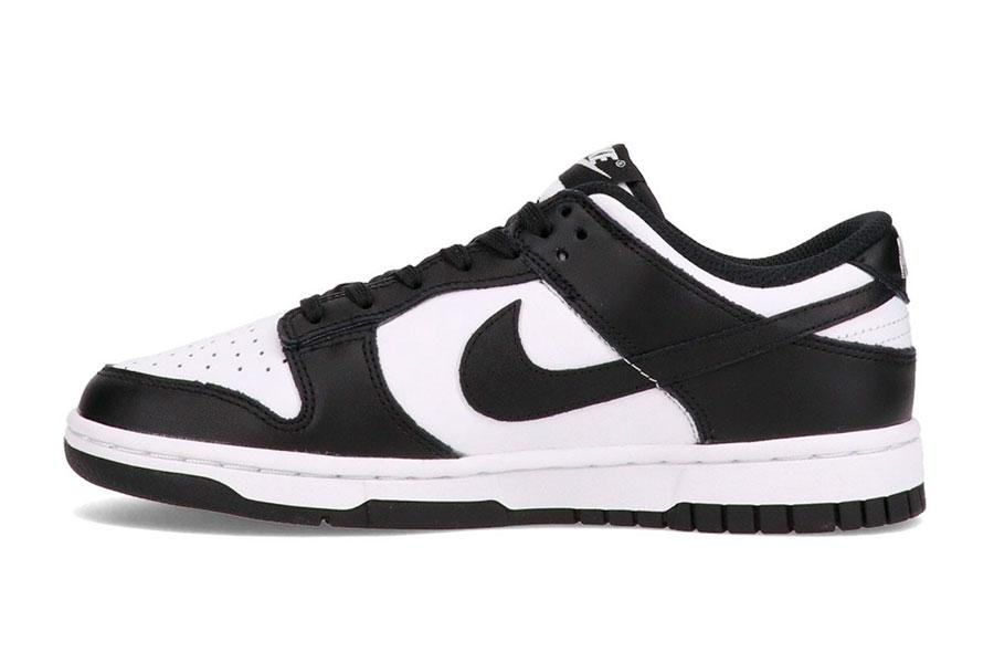 Nike Dunk Low 「White/Black」黑白配色AMBUSH简化版插图1