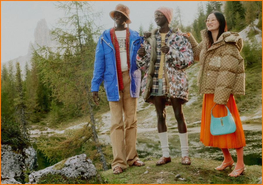 THE NORTH FACE x Gucci 年度重磅联名系列搭配造型LookBook插图4