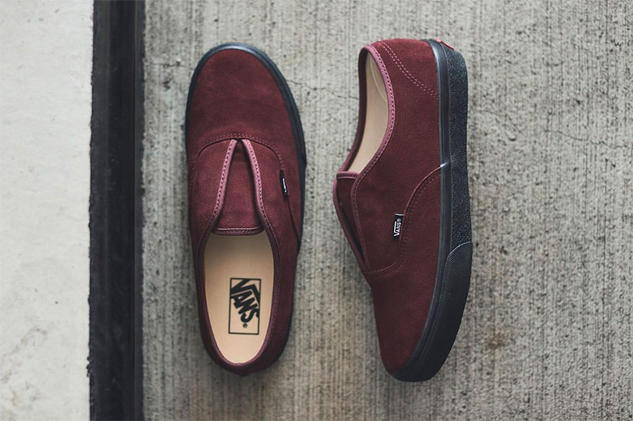 Vans 全新 Authentic Slip 混合鞋型  Authentic 与 Slip-On 特点集合插图1