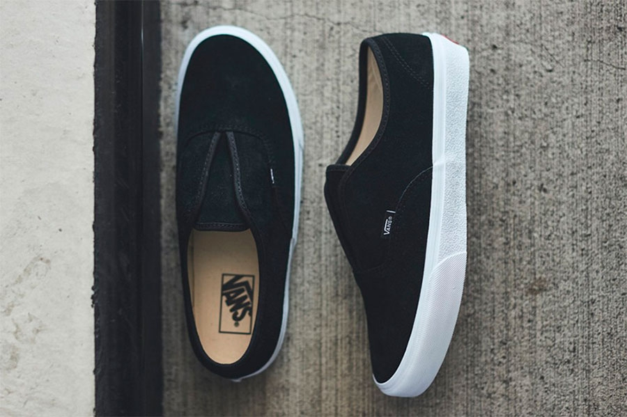 Vans 全新 Authentic Slip 混合鞋型  Authentic 与 Slip-On 特点集合插图2