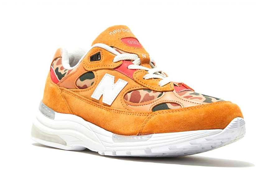Todd Snyder x New Balance 992 「From Away」配色联名鞋款插图2