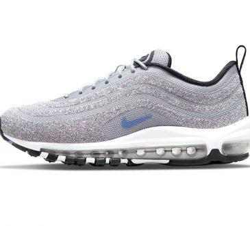 Swarovski x Nike Air Max 97  Polar Blue 配色 水晶跑鞋缩略图